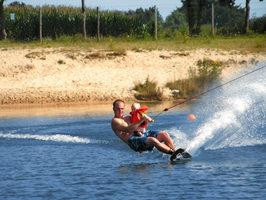 Freizeit Möglichkeit Wasserski Bild unter Ferienwohnung Schomaker in Meppen